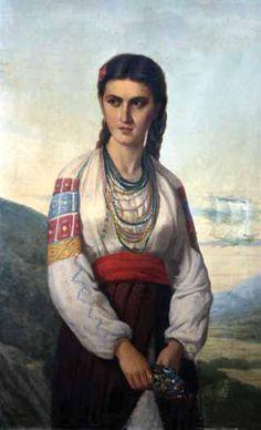 Petru_Verussi_-_Taranca Folk Costume, Costumes, Romania, Art Images, Old Photos, Mona Lisa, Beautiful Women, Country, Artwork