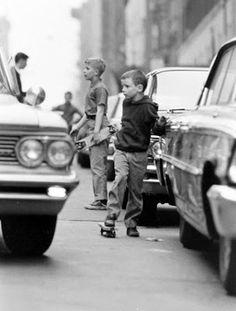 STORK BITES MAN: Skateboard in the 1960s