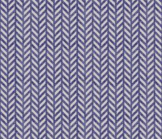 herringbone_fusion fabric by holli_zollinger on Spoonflower - custom fabric - note the texture and the depth of the blue. mm mm