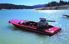 Fast Boats, Cool Boats, Speed Boats, Power Boats, Drag Boat Racing, Flat Bottom Boats, Ski Boats, Bicycle Bag, Vintage Ski