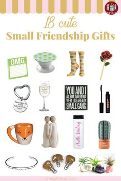 cute inexpensive friendship gifts sentimental gifts for best friend gifts for your girlfriend
