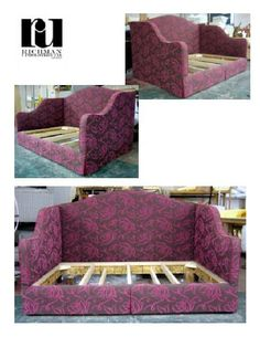 - Crafters of Fine Furniture in Denver, Colorado Diy Sofa, Diy Daybed, Upholstered Daybed, Furniture Makeover, Diy Furniture, Rustic Wooden Shelves, Dresser Plans, Diy Bett, Small Space Interior Design