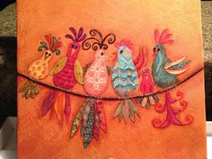 Deb9 Creations: Birds of a Feather Flock Together!