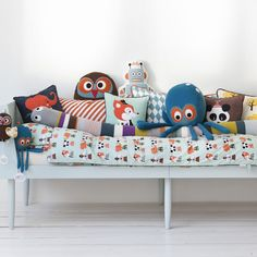 I love ferm livings pillows, prints and colours!