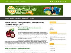 Garcinia Cambogia Extract Reviews: Is it Right for You