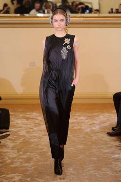 Yuna Yang at New York Fashion Week Fall 2016 - Livingly
