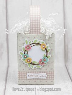 i love 2 cut paper: Spring Wishes Box - Pazzles Design Team