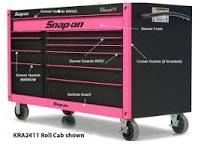 Image result for pink snap on tool box