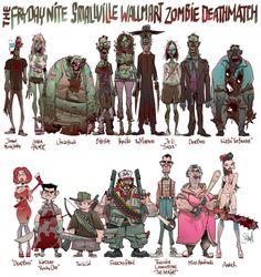 pixel mixer: Zombie deathmatch