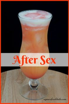 After Sex cocktail is the perfect blend of vodka with orange juice and a splash of banana liqueur. You are in the right place about tropical Alcoholic Drinks Here we offer you the most beautiful pictu St Patrick's Day Cocktails, Cocktail Drinks, Cocktail Recipes, Vodka Cocktails, Amaretto Drinks, Martinis, Peach Schnapps Drinks, Vanilla Vodka Drinks, Painkiller Cocktail