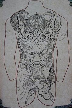 full body dragon tattoo - Google Search