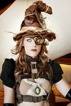 Steam punk witch!