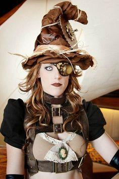 Steam punk witch!
