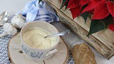 Crema suave de ajos