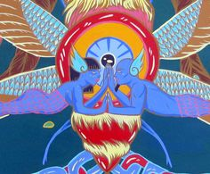 Sprouting Moth (detail) by Natalie Phillips $350.00