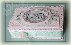 Spellbinders Paper Arts - Community - Blog - View Post - Bridesmaid Gift Box