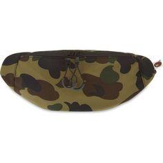 DC Mens Farce Waistpack Bag One Size Woodland Camo