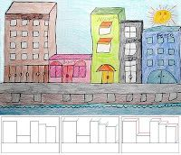 Art Projects for Kids: How to Draw City Buildings