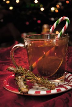 Christmas Tea by b-r-ee-z-e.deviantart.com on @deviantART
