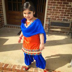 Punjabi suit for kids