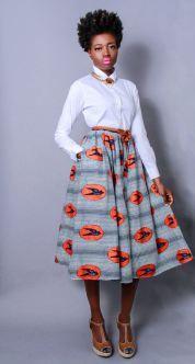 Model YaaSoulRebel wearing Demestiks NY skirt by Reuben Reul. https://www.etsy.com/shop/DemestiksNewYork