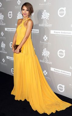Obsessed with Jess and her gorgeous mustard gown!