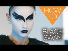 The New Black Swan Halloween How-To Makeup Tutorial - YouTube
