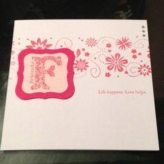 Friends homemade card