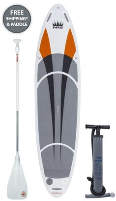 This is my new board. The brown is actually bright orange :)   2014 NRS Earl 4 Inflatable Stand Up Paddle Board