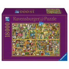 Magical Bookcase 18000pc Puzzle