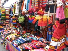 Otavalo, Equador - a HUGE Indigenous market with shopping, shopping, shopping. Quito, Ecuador, Rivers And Roads, Adventures Abroad, 6 Month Old Baby, Galapagos Islands, How To Speak Spanish, South America, Peru