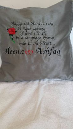 Check out this item in my Etsy shop https://www.etsy.com/listing/228019649/personalized-embroided-cushion-covers