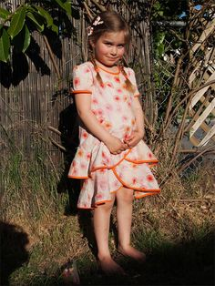 Oliver + S Pinwheel Dress and Tunic pattern, sewn by coastberry,