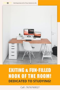 The home studying corner has been just so kind over the past few months. Get the incredible designs of the study units for bringing incredible look with great comfort to study. Study Room Design, Apartment Interior Design, Table Desk, Best Interior, Cool Suits, Studying, Office Desk, Corner, Furniture