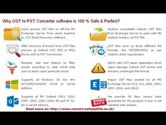 Download OST to PST Converter software and Easily Convert OST to PST files.