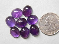 Your place to buy and sell all things handmade Amethyst Gemstone, Oval Shape, Labradorite, Handmade Items, Pairs, Shapes, Gemstones, Stuff To Buy, Etsy