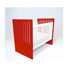 A Rainbow of Colorful Cribs For Baby's Nursery