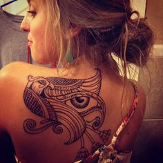 by miss amanda in SLC #back #tattoos