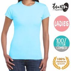 LADIES - BIRU TURKIS MUDA