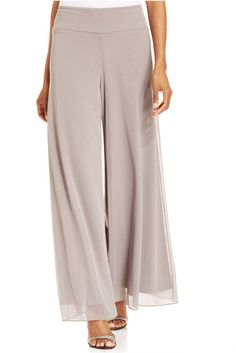 Pin for Later: Palazzo Pants Are the Perfect Summer Antidote to Scary Skinnies MSK Wide-Leg Chiffon Pants MSK Wide-Leg Chiffon Pants (£33)