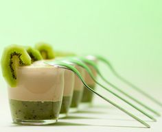 To know more about Food and Wine Kiwi Coconut Smoothie Shooters, visit Sumally, a social network that gathers together all the wanted things in the world! Featuring over 23 other Food and Wine items too! Kiwi Smoothie, Coconut Smoothie, Smoothie Drinks, Wine Recipes, Dessert Recipes, Yummy Drinks, Yummy Food, Shooter Recipes, How To Make Smoothies