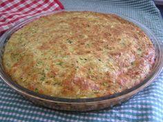 Cuketový slaný koláč (fotorecept) - obrázok 6 Quiche, Ham, Veggies, Food And Drink, Breakfast, Health, Recipe, Zucchini, Clean Foods