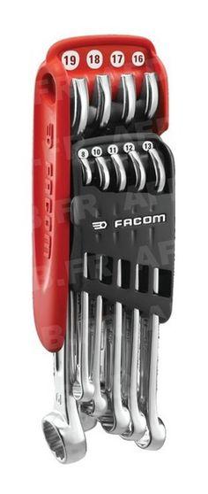 Jeu de 9 clés mixtes 440 (8 à 19mm) sur étui Promo n°8-10-11-12-13-16-17-18-19