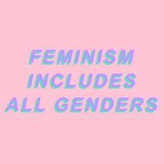 #Feminism includes All Genders ∘❀ pinterest : @samsmithvevo ❀∘