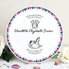 "a Bespoke Made Printed Rainbow Unicorn Children/'s Dinner Plate Christmas Gift Personalised Ceramic Plate 10/"" Any Custom Name"