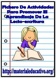 Fichero de actividades para promover el aprendizaje de la lecto-escritura