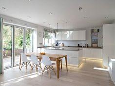 Contemporary open-plan living area
