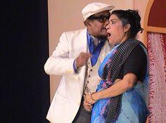 Tiatrist Cyriaco Dias and Fatima D'Souza