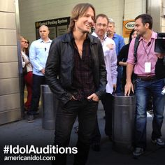 """""""It's such a legendary show. It's the American dream."""" ~ @KeithUrban at yesterday's #IdolJudges press conference via @AmericanIdol"""