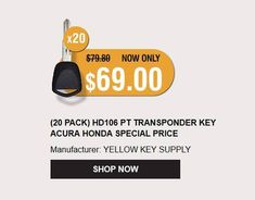42 Best Yellow Key Supply images in 2018 | Car keys, Pilot, Remote